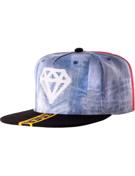 BERRETTO CON FRONTINO SNAP BACK DIAMOND