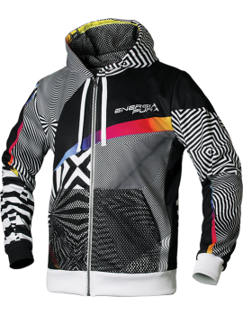 FELPA FULL ZIP OPTICAL