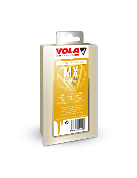 WAX 1X200G MX YELLOW NO FLUOR