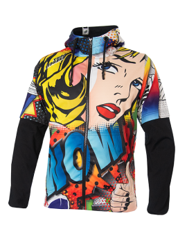 FELPA POP ART FULL ZIP