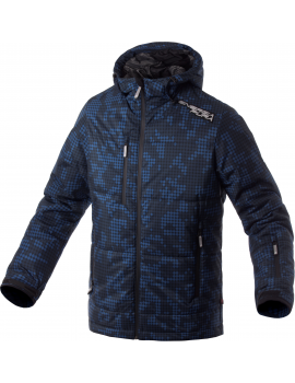 PIXEL SYNTHETIC PADDED JACKET