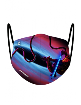 "LIMITED EDITION SMART MASK ""THE SPACE VIOLIN 2"" BY ANDREA CASTA (2 PIECES)"