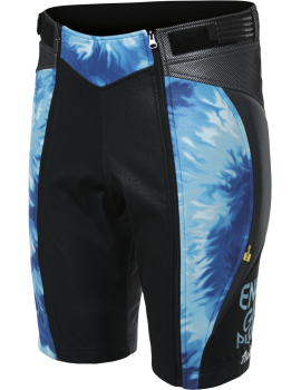 FLUID SHORT PANT WITH PROTECTIONS