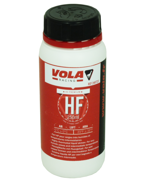 WAX 250ML LIQUID POLYCARBON HF RED